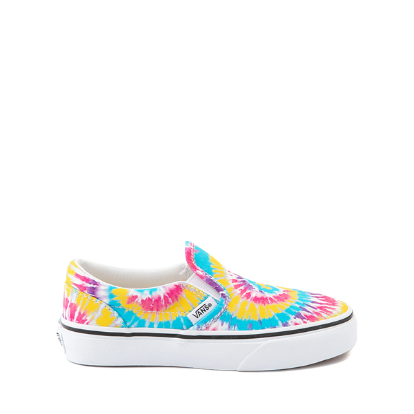 Main view of Vans Slip On Skate Shoe - Little Kid - Tie Dye