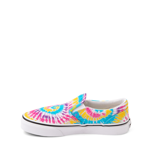 alternate view Vans Slip On Skate Shoe - Little Kid - Tie DyeALT1