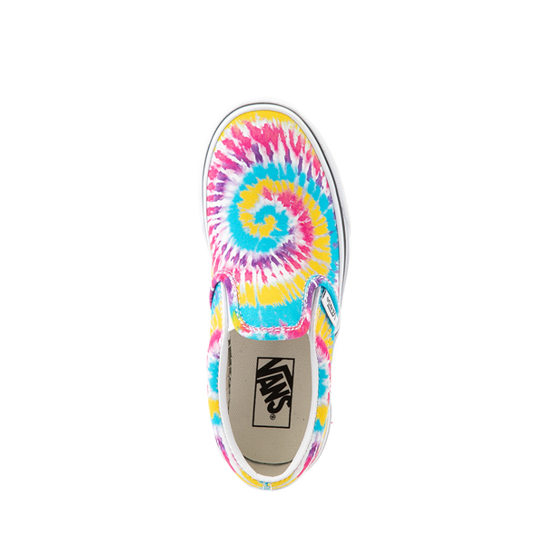 alternate view Vans Slip On Skate Shoe - Little Kid - Tie DyeALT2