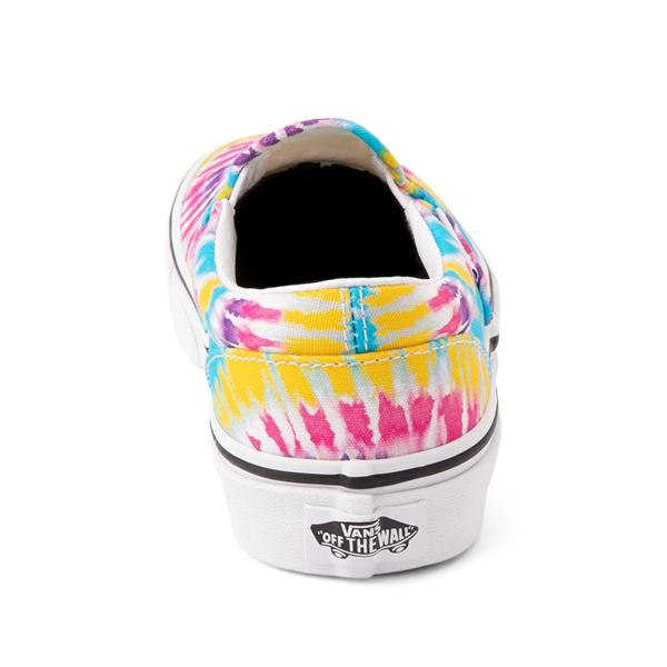 alternate view Vans Slip On Skate Shoe - Little Kid - Tie DyeALT4