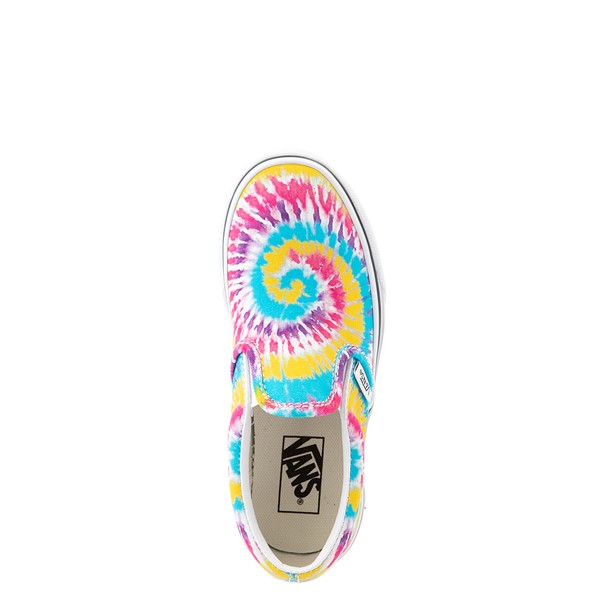 alternate view Vans Slip On Skate Shoe - Little Kid - Tie DyeALT4B