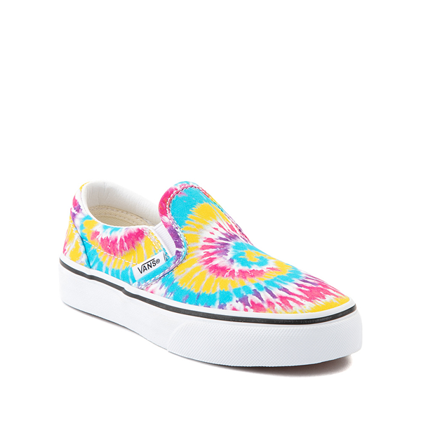 alternate view Vans Slip On Skate Shoe - Little Kid - Tie DyeALT5
