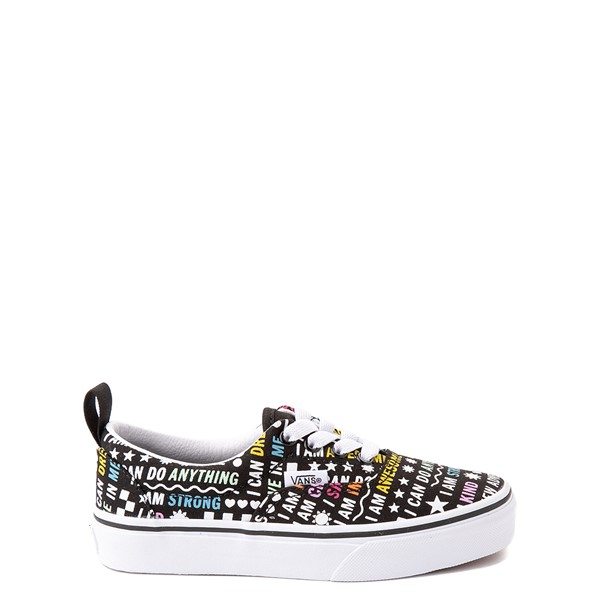 Main view of Vans Era Shine Bright Skate Shoe - Little Kid - Black / Multicolor