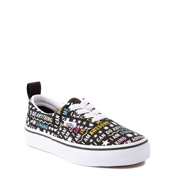 alternate view Vans Era Shine Bright Skate Shoe - Little Kid - Black / MulticolorALT5