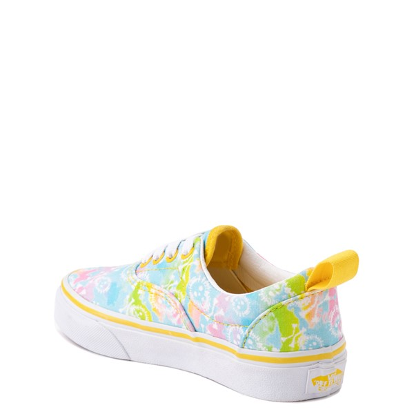 alternate view Vans Era Skate Shoe - Little Kid - Tie Dye SkullsALT1