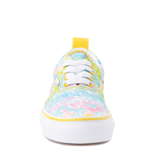 alternate view Vans Era Skate Shoe - Little Kid - Tie Dye SkullsALT4