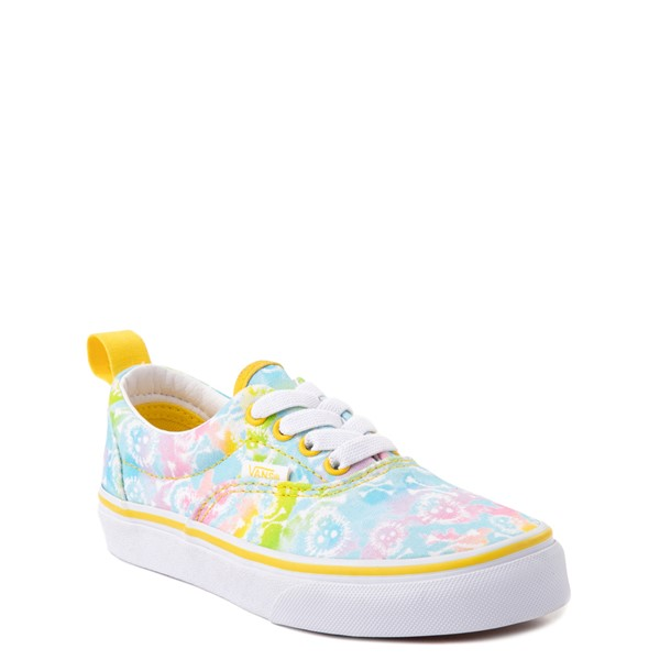 alternate view Vans Era Skate Shoe - Little Kid - Tie Dye SkullsALT5