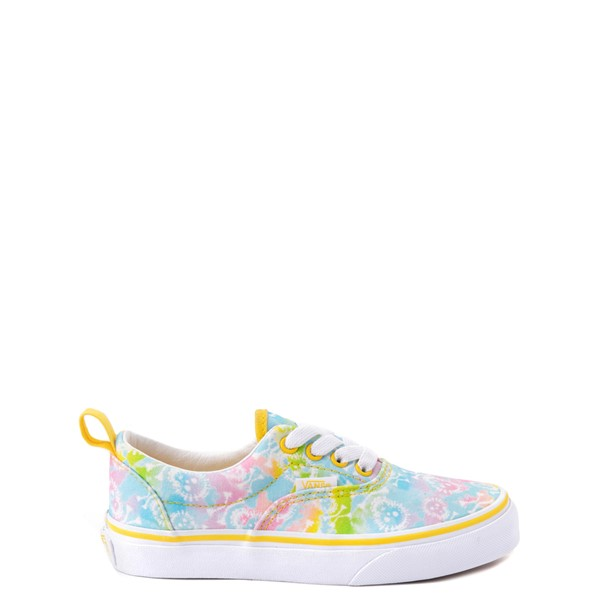 Main view of Vans Era Skate Shoe - Big Kid - Tie Dye Skulls