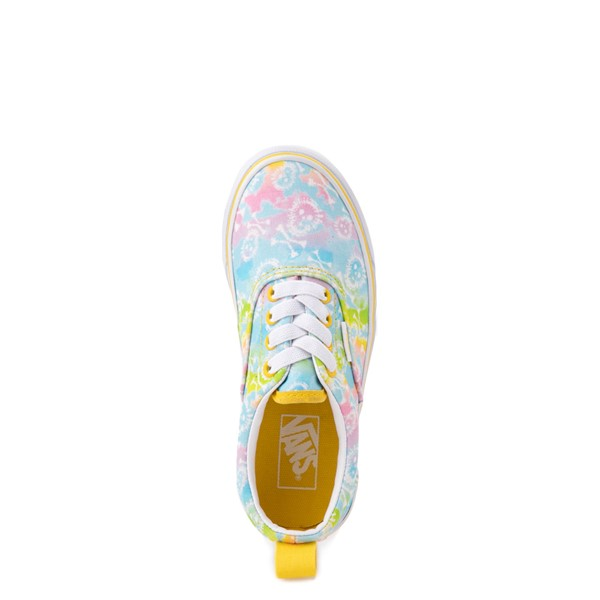 alternate view Vans Era Skate Shoe - Big Kid - Tie Dye SkullsALT2