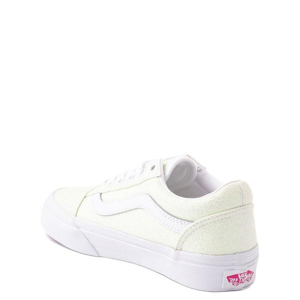 alternate view Vans Old Skool Skate Shoe - Little Kid - White / UV GlitterALT1B