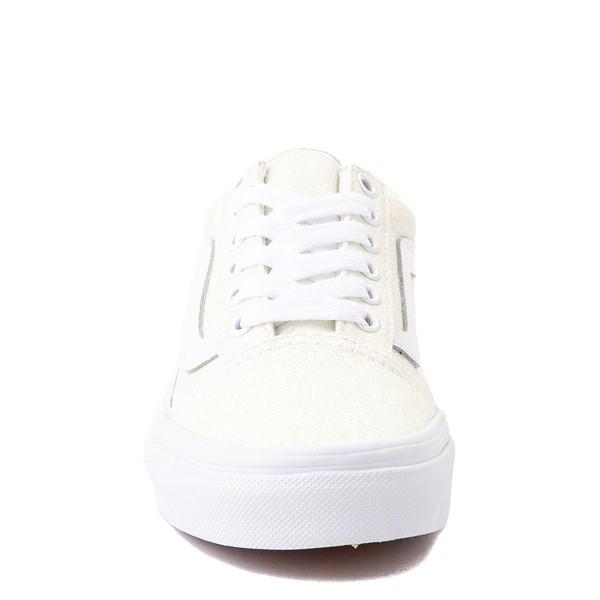 alternate view Vans Old Skool Skate Shoe - Little Kid - White / UV GlitterALT4