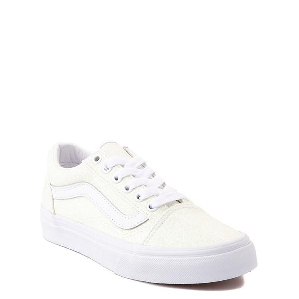 alternate view Vans Old Skool Skate Shoe - Little Kid - White / UV GlitterALT5