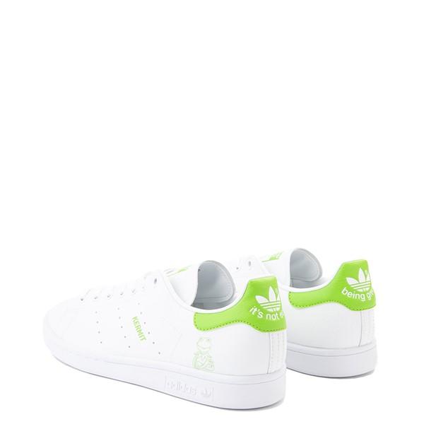 alternate view Mens adidas Stan Smith Kermit The Frog Athletic Shoe - WhiteALT1
