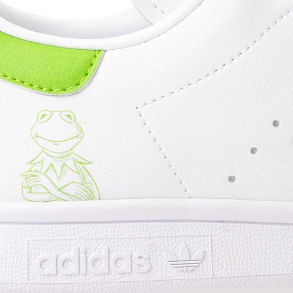 alternate view Mens adidas Stan Smith Kermit The Frog Athletic Shoe - WhiteALT1C