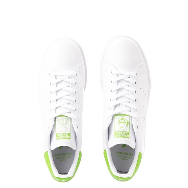 alternate view Mens adidas Stan Smith Kermit The Frog Athletic Shoe - WhiteALT2