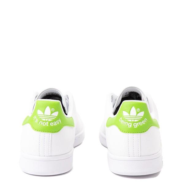 alternate view Mens adidas Stan Smith Kermit The Frog Athletic Shoe - WhiteALT4