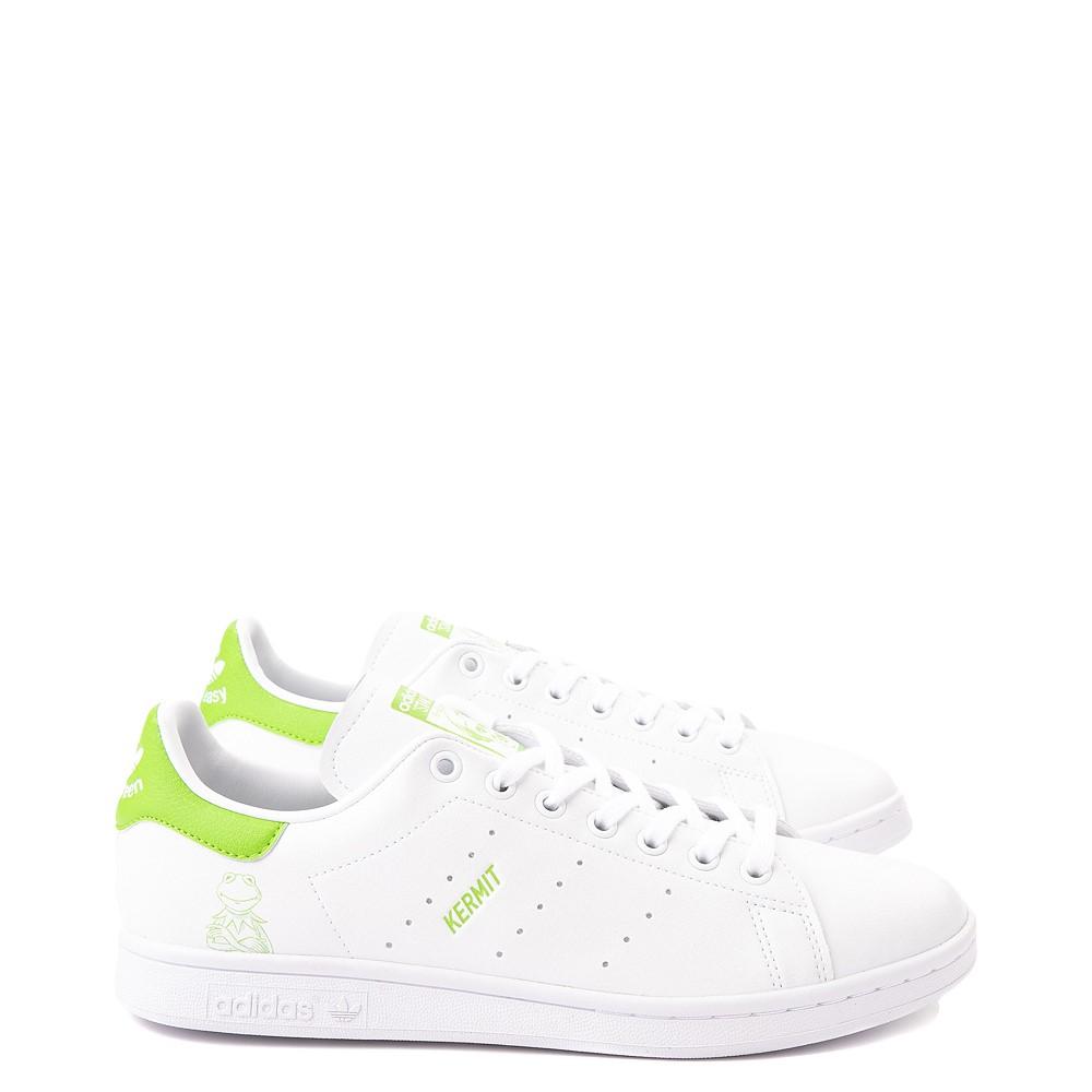 Mens adidas Stan Smith Kermit The Frog Athletic Shoe - White