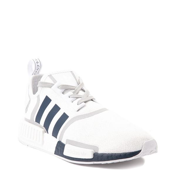 alternate view Mens adidas NMD R1 Athletic Shoe - White / NavyALT5