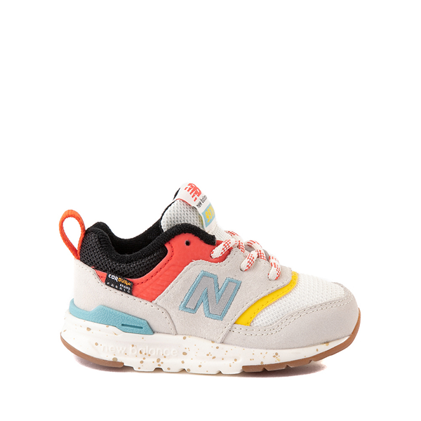 New Balance 997H Athletic Shoe - Baby / Toddler - White / Multicolor