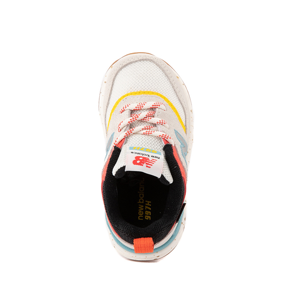 alternate view New Balance 997H Athletic Shoe - Baby / Toddler - White / MulticolorALT2