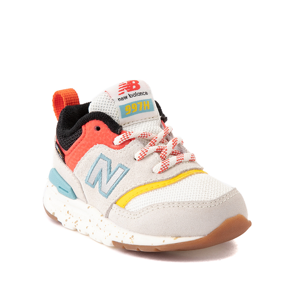 alternate view New Balance 997H Athletic Shoe - Baby / Toddler - White / MulticolorALT5