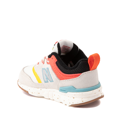 Alternate view of New Balance 997H Athletic Shoe - Baby / Toddler - White / Multicolor