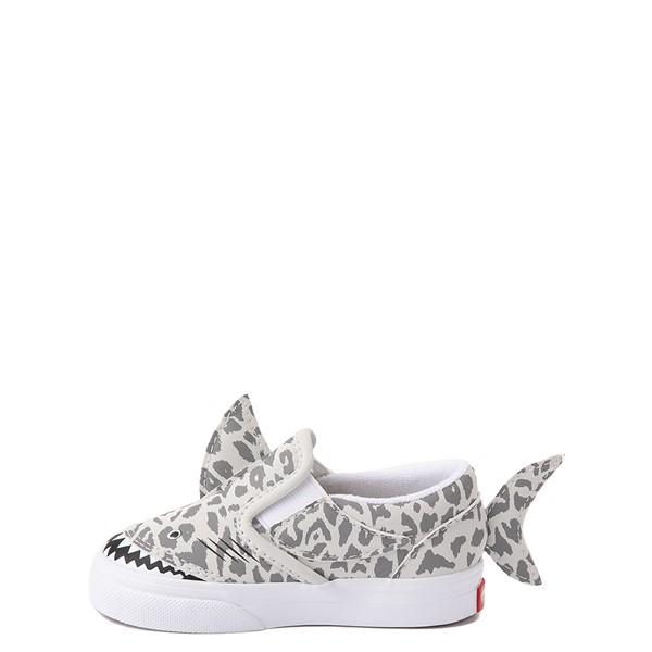 alternate view Vans Slip On V Shark Skate Shoe - Baby / Toddler - Leopard SharkALT1