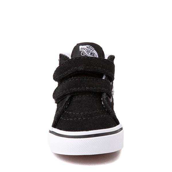 alternate view Vans Sk8 Mid Reissue V Tie Dye Skate Shoe - Baby / Toddler - Black / SkullALT4