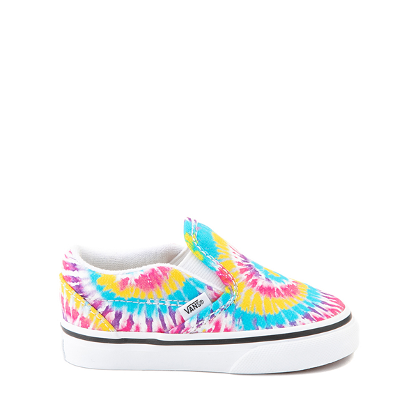 Main view of Vans Slip On Skate Shoe - Baby / Toddler - Tie Dye