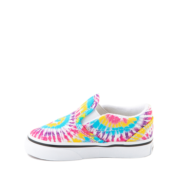 alternate view Vans Slip On Skate Shoe - Baby / Toddler - Tie DyeALT1