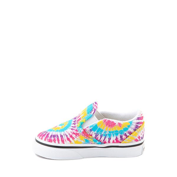 alternate view Vans Slip On Skate Shoe - Baby / Toddler - Tie DyeALT1