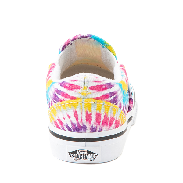 alternate view Vans Slip On Skate Shoe - Baby / Toddler - Tie DyeALT4