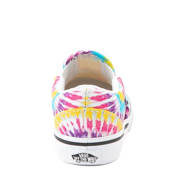 alternate view Vans Slip On Skate Shoe - Baby / Toddler - Tie DyeALT4