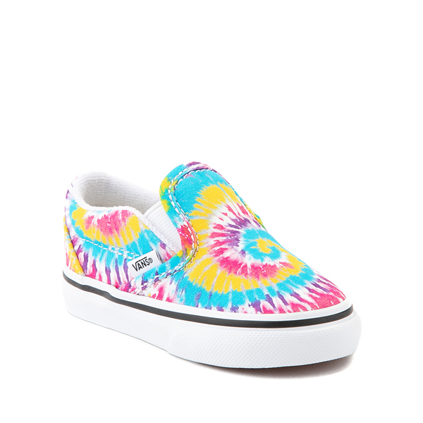 alternate view Vans Slip On Skate Shoe - Baby / Toddler - Tie DyeALT5