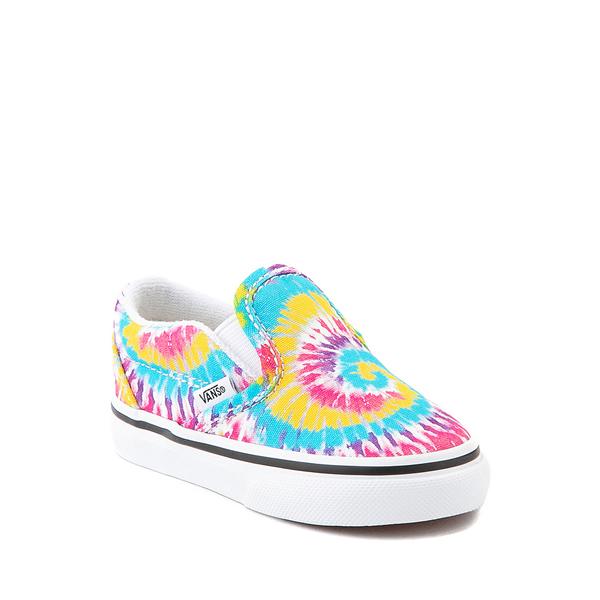 alternate view Vans Slip On Skate Shoe - Baby / Toddler - Tie DyeALT5