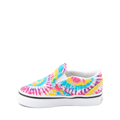 Alternate view of Vans Slip On Skate Shoe - Baby / Toddler - Tie Dye