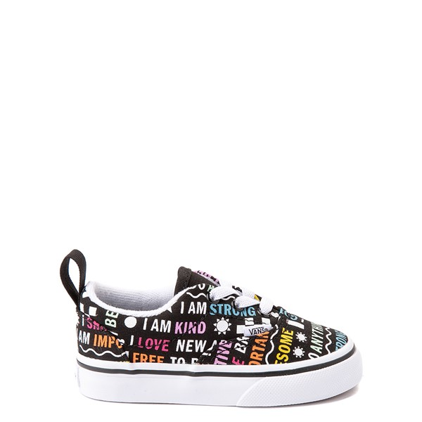 Main view of Vans Era Shine Bright Skate Shoe - Baby / Toddler - Black