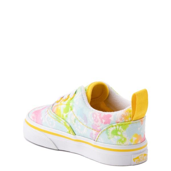 alternate view Vans Era Skate Shoe - Baby / Toddler - Tie Dye SkullsALT1