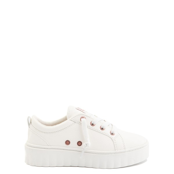 Roxy Sheilahh Platform Casual Shoe - Little Kid / Big Kid - White