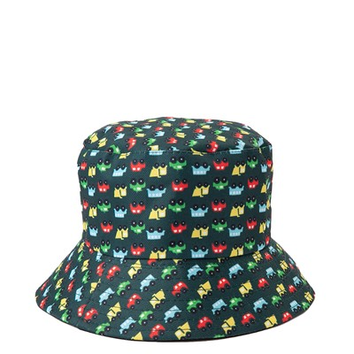 Alternate view of Bucket Hat and Sunglasses Set - Toddler - Black / Multicolor