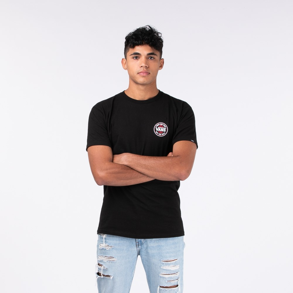 Mens Vans Tried and True Tee - Black