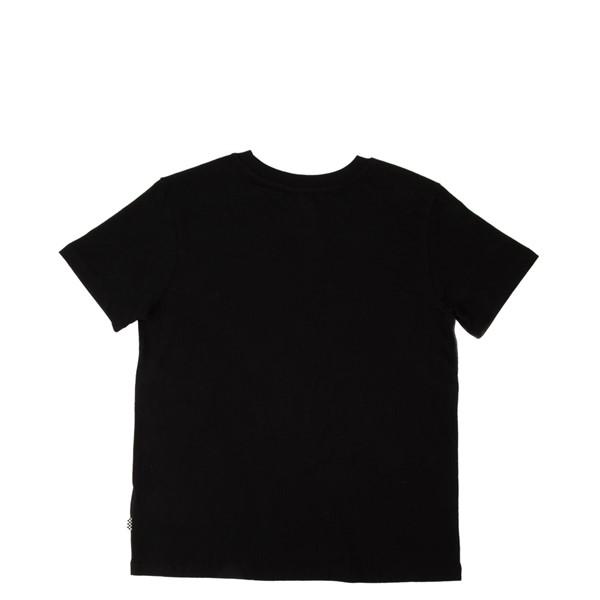 alternate view Womens Vans Box Logo Tee - Black / Tie DyeALT1