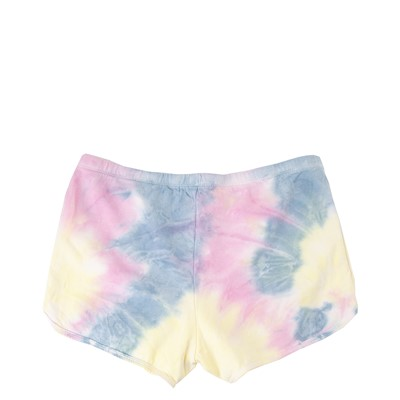 Alternate view of Womens Vans Spiraling Shorts - Orchid Tie Dye