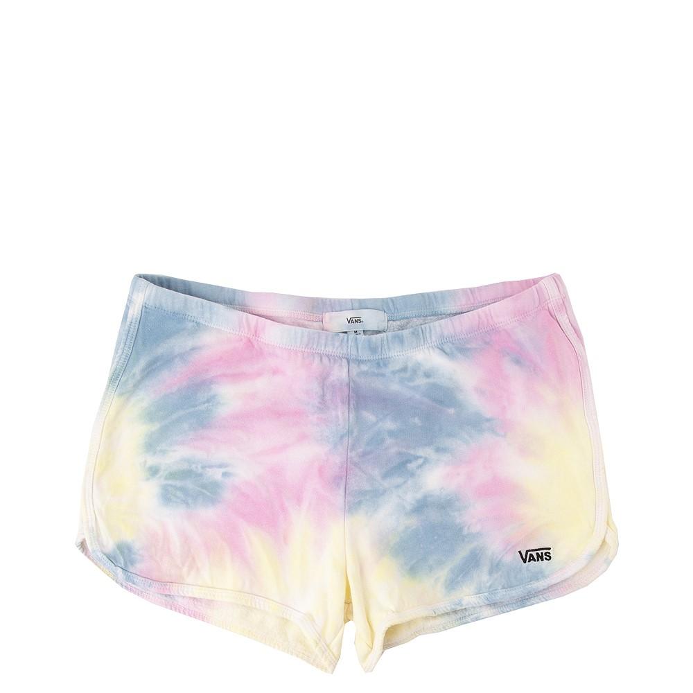 Womens Vans Spiraling Shorts - Orchid Tie Dye