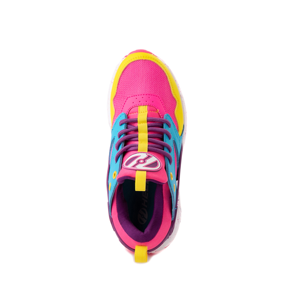 alternate view Heelys Force Skate Shoe - Little Kid / Big Kid - Neon Color-BlockALT2