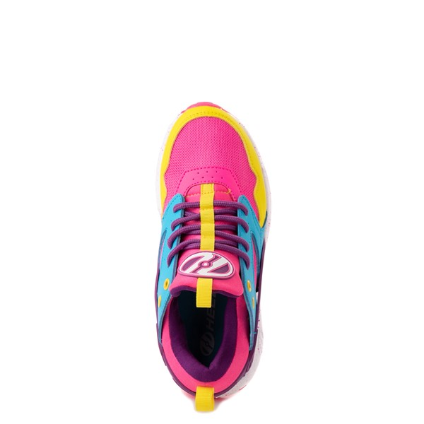 alternate view Heelys Force Skate Shoe - Little Kid / Big Kid - Neon Color-BlockALT4B