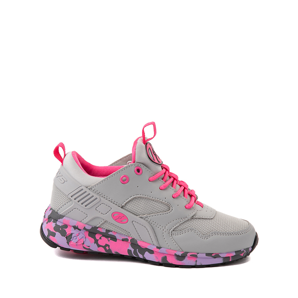 Main view of Heelys Force Skate Shoe - Little Kid / Big Kid - Gray / Pink