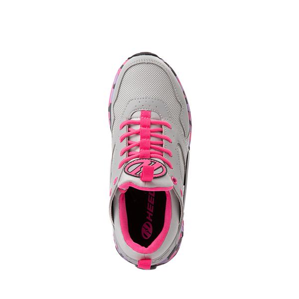 alternate view Heelys Force Skate Shoe - Little Kid / Big Kid - Gray / PinkALT2