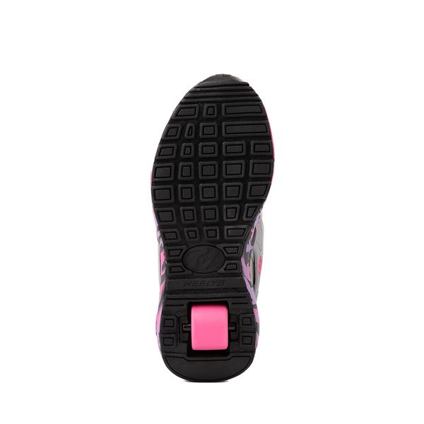alternate view Heelys Force Skate Shoe - Little Kid / Big Kid - Gray / PinkALT3