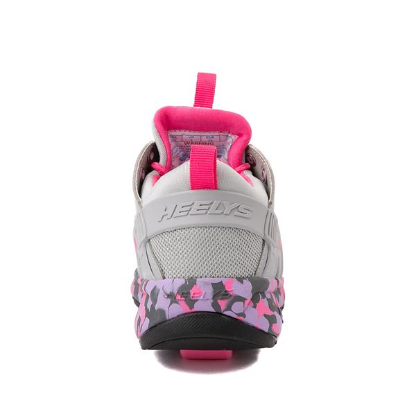 alternate view Heelys Force Skate Shoe - Little Kid / Big Kid - Gray / PinkALT4